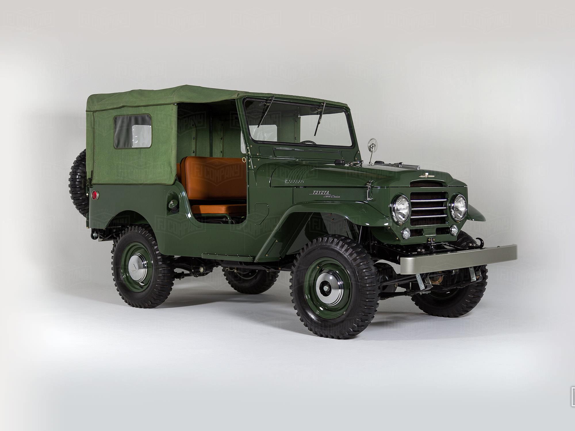 1960 Toyota Land Cruiser FJ25 21422 Army Green