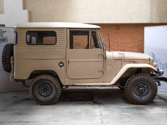 An FJ40 in Rare Form