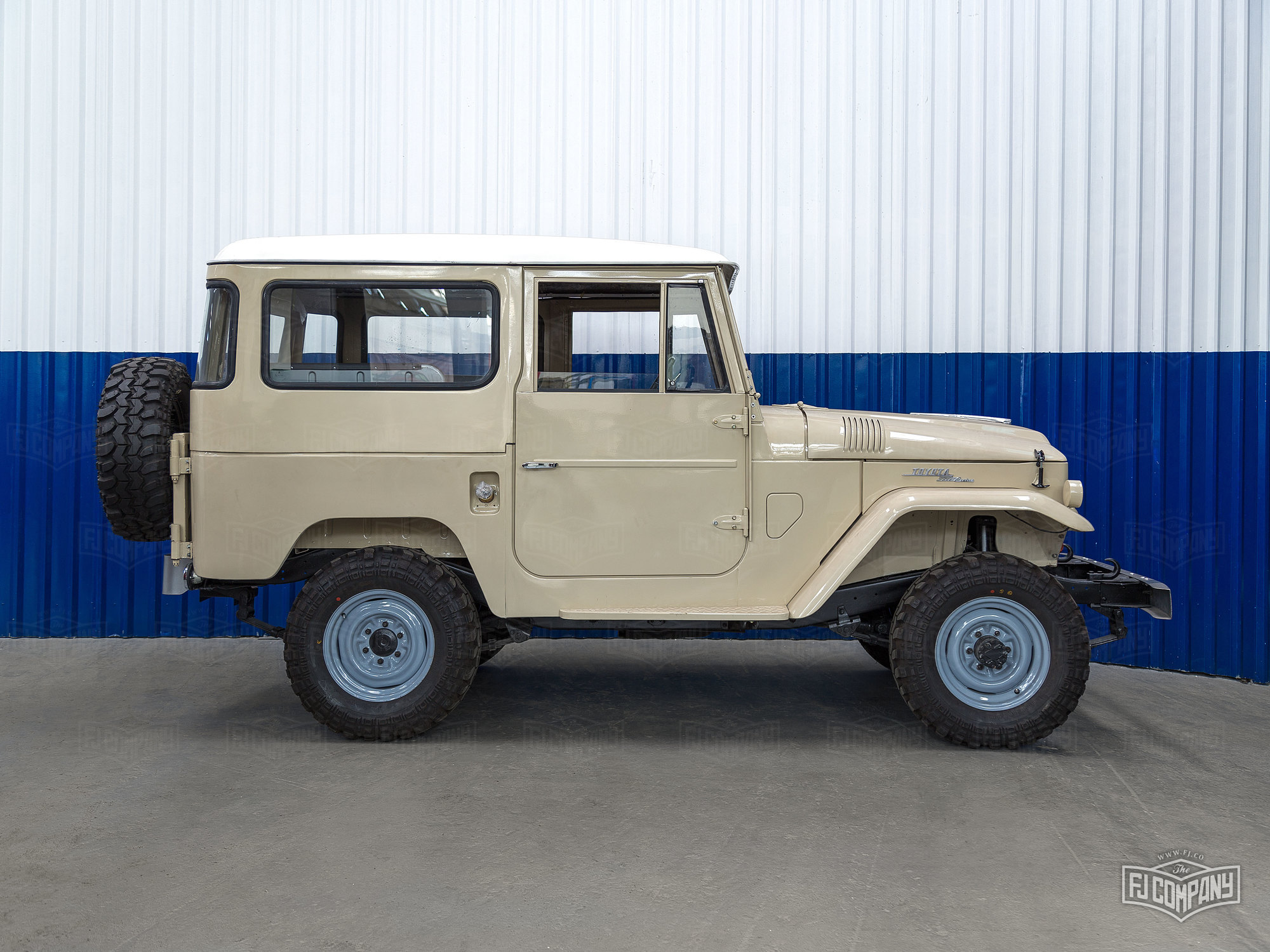 This 1966 FJ40 will have classic looks combined with serious power