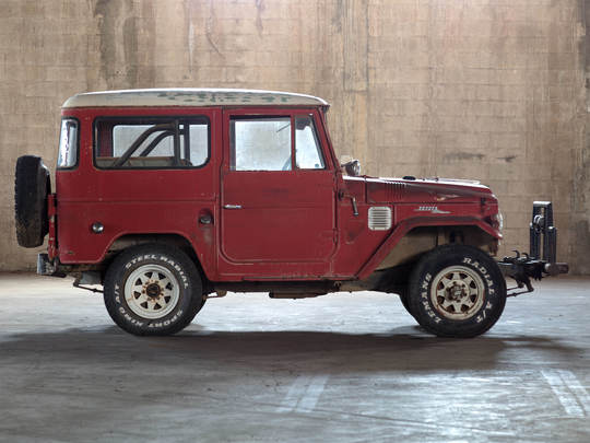 1966 Toyota Land Cruiser FJ40 Red