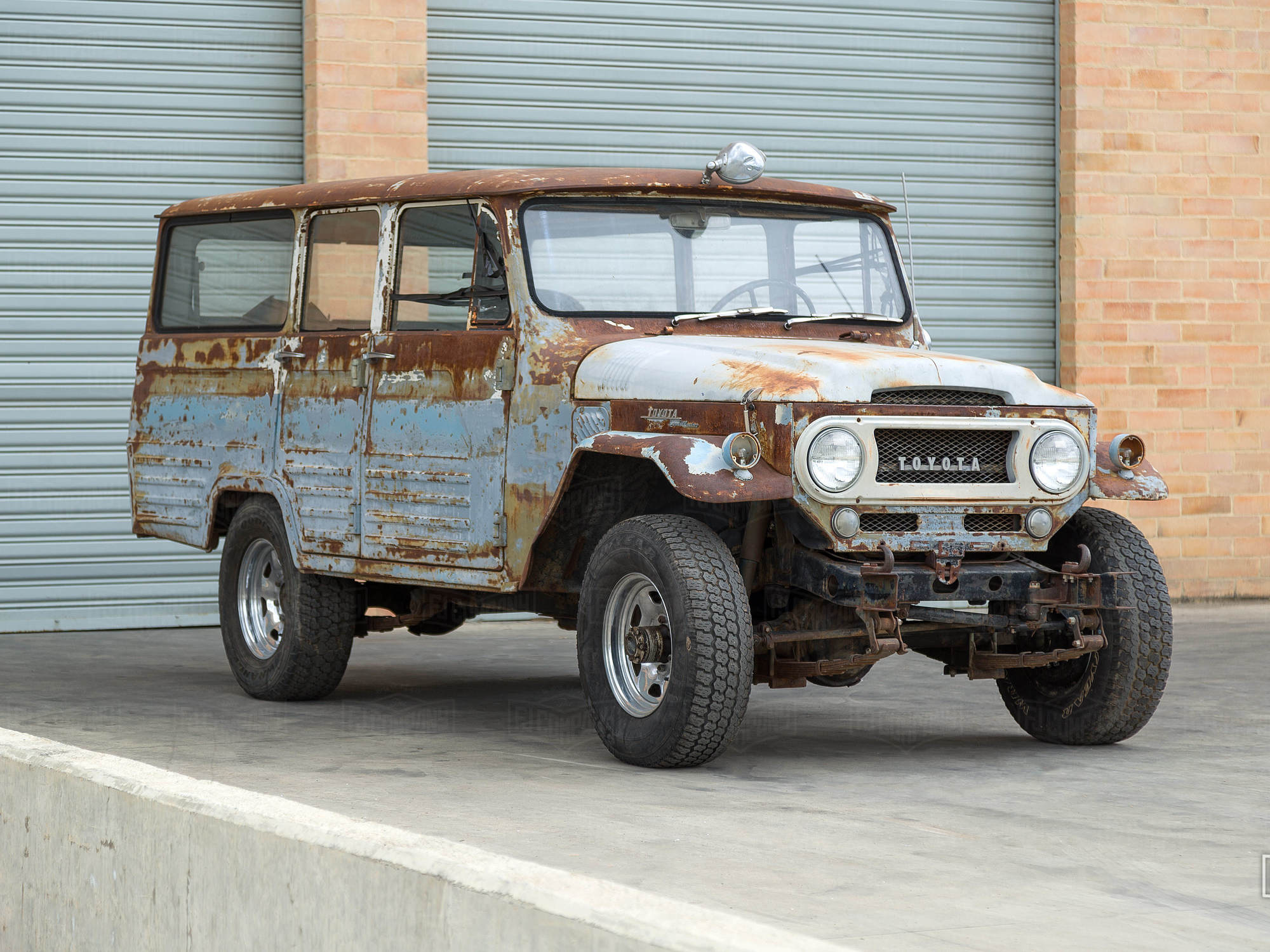 A Land Cruiser for serious collectors.