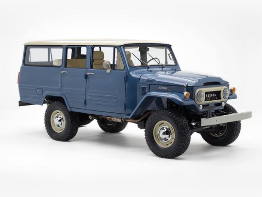 1966 Toyota Land Cruiser FJ45 LV Cadet Blue