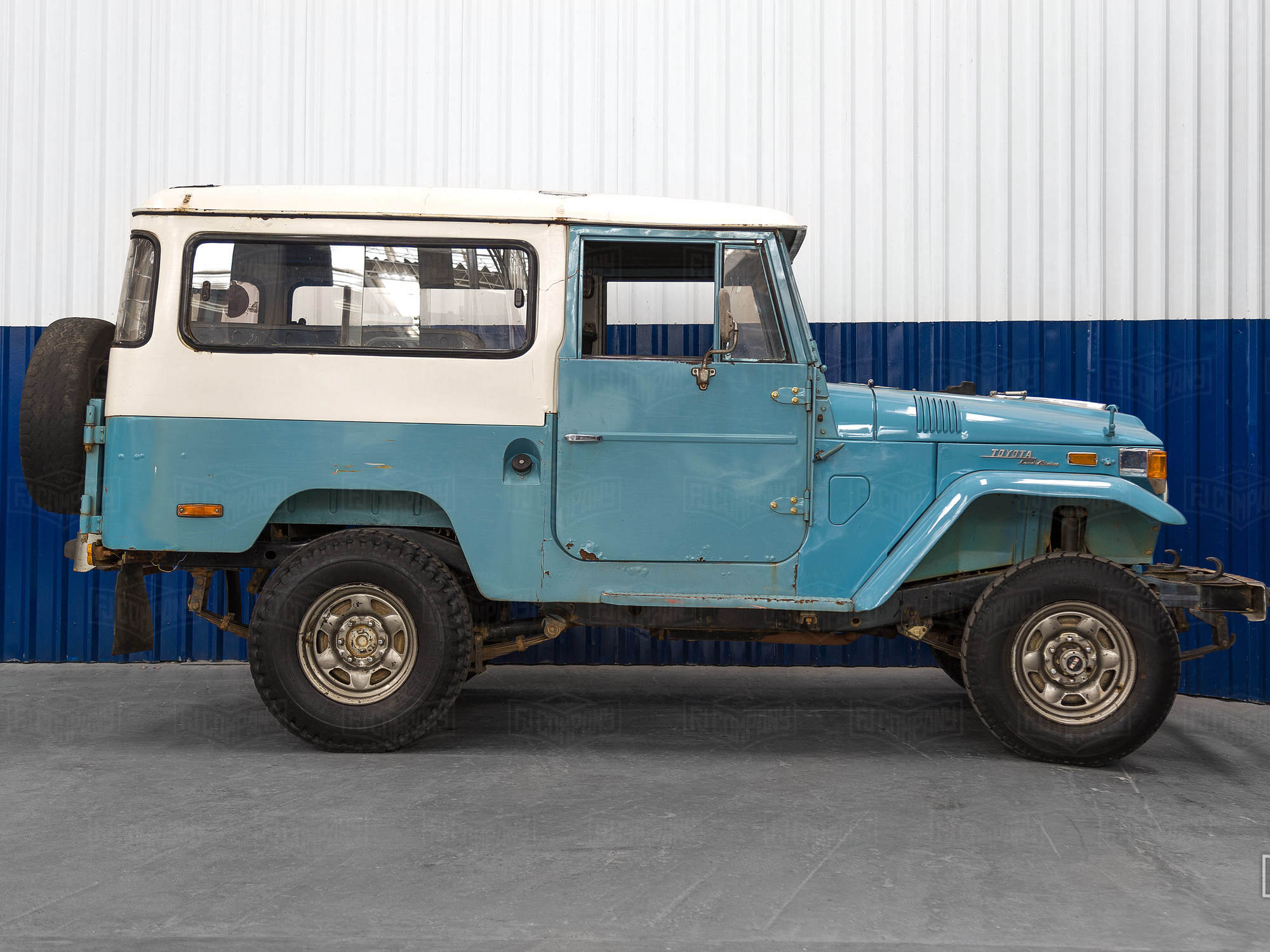 An amazing color combination will make this FJ43 one of our best yet