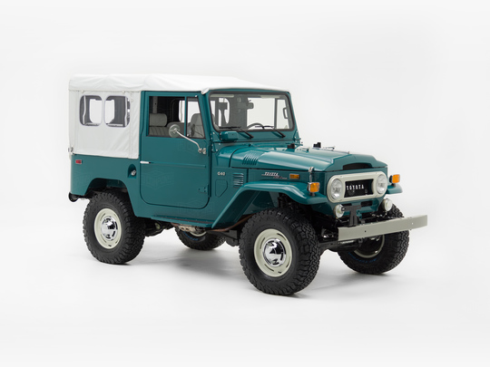 Toyota Land Cruiser 1972 G40 Rustic Green