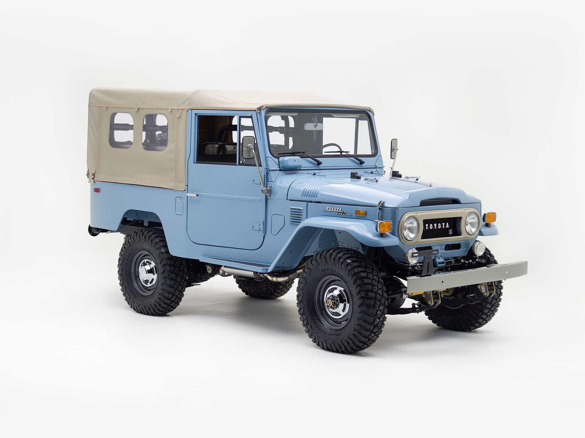 1973 Toyota Land Cruiser FJ43 Capri Blue