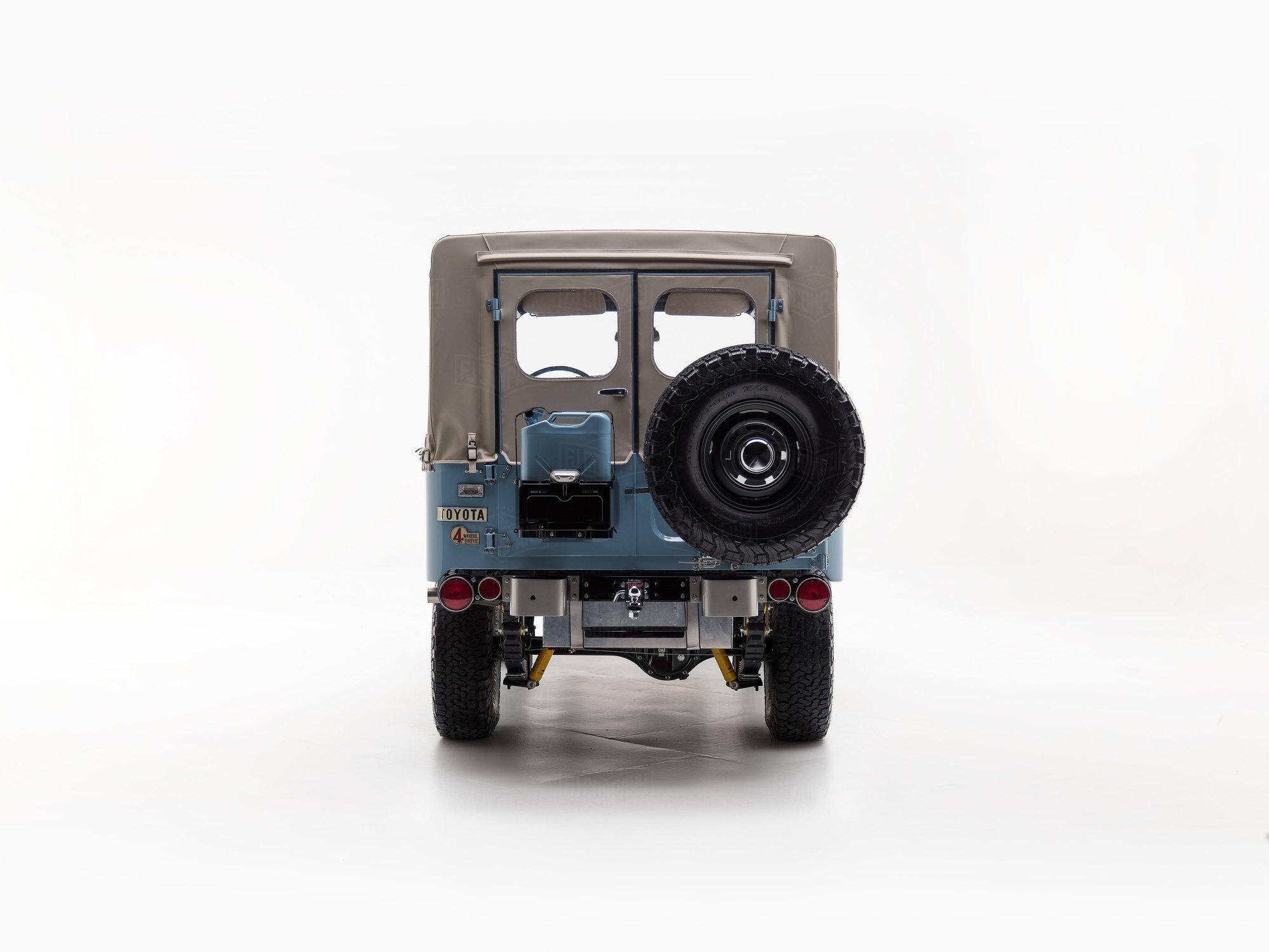 1973 Fj43 Capri Blue 25992 Toyota Land Cruiser Parts The Fj Company