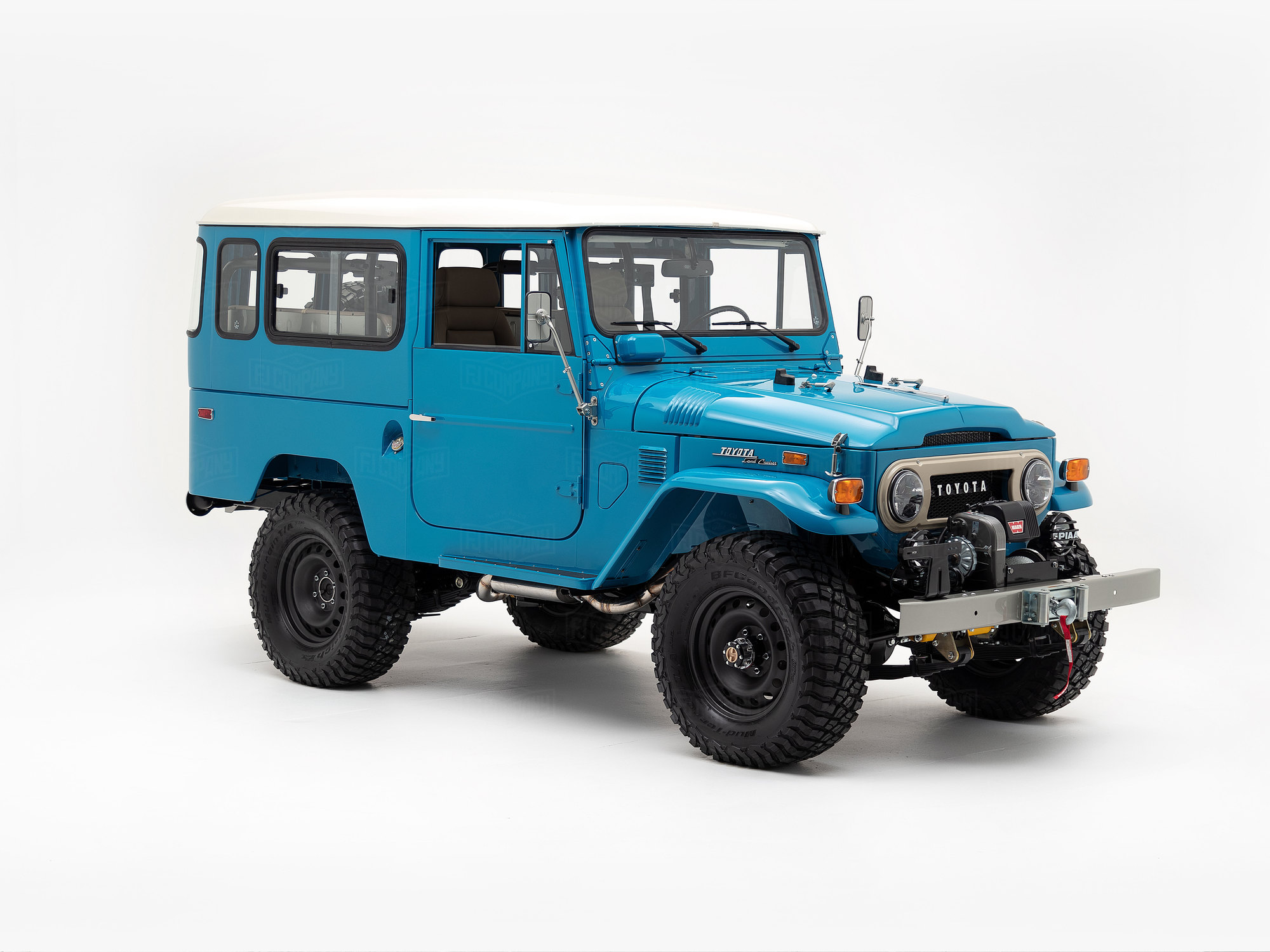 Toyota Land Cruiser 1974 FJ43 Sky Blue