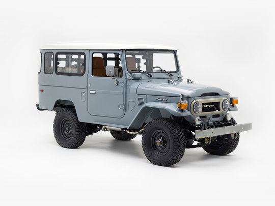1976 Toyota Land Cruiser FJ43 Heath Gray