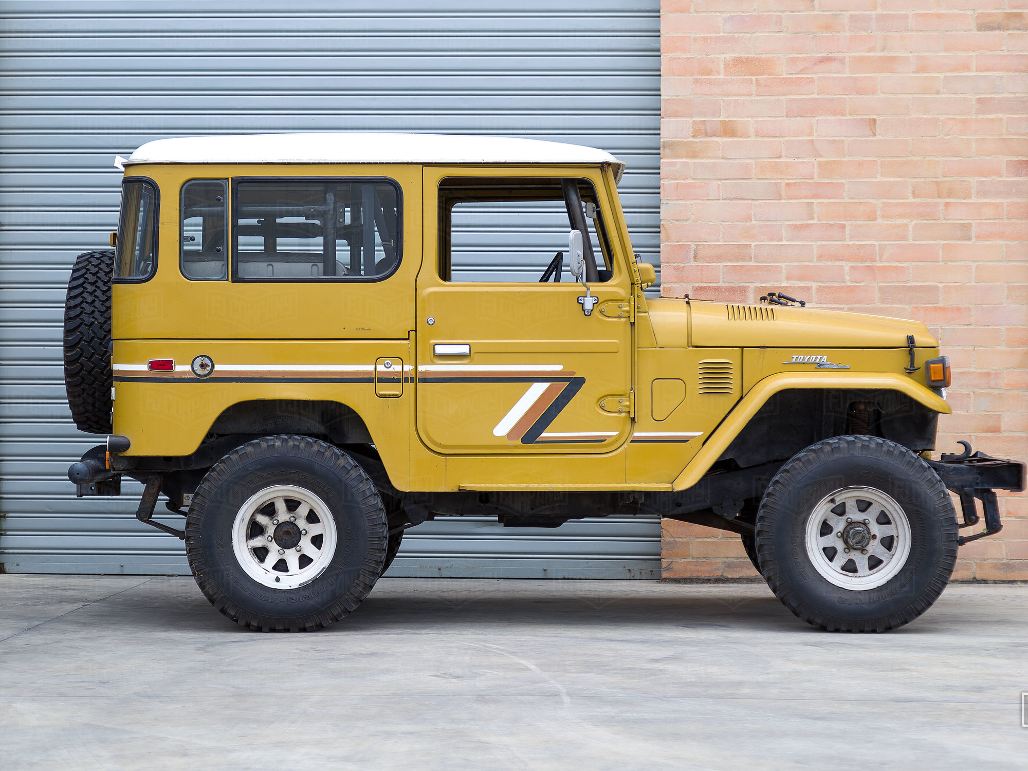 Original California FJ40 from 1977