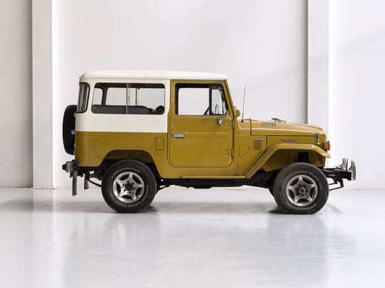1977 Toyota Land Cruiser FJ40 Yellow