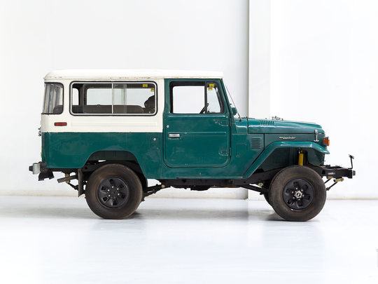 Toyota Land Cruiser 1977 FJ43 Green