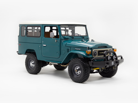 Toyota Land Cruiser 1977 FJ43 Rustic Green