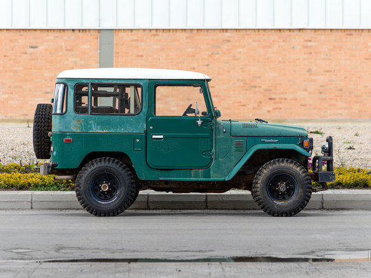 Sent to us from Texas, this 1978 FJ40 is going to be awesome!