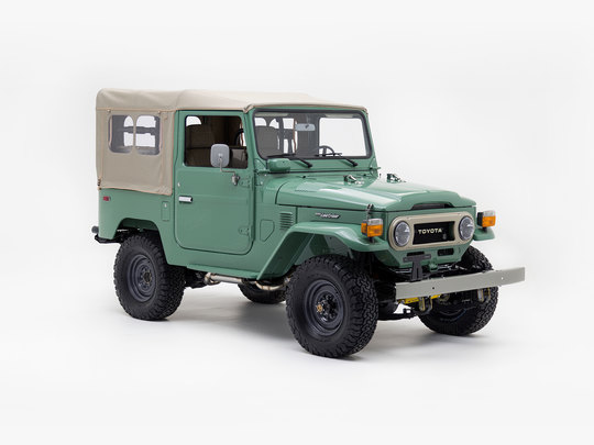 1978 Toyota Land Cruiser FJ40 Nebula Green