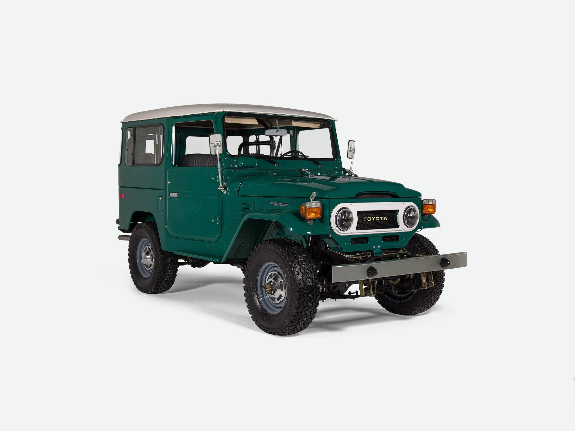 1978 fj40 - rustic green - fj40-273743