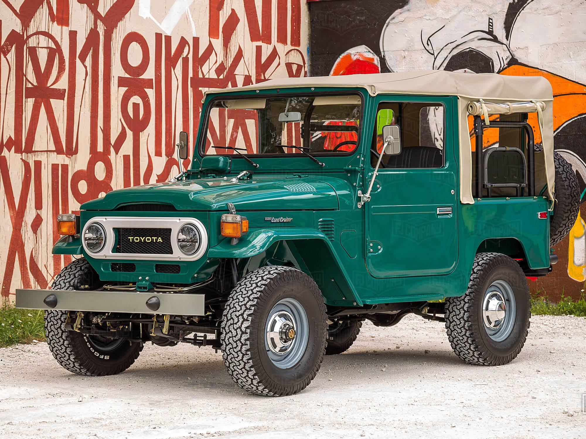 1978 FJ40 Rustic Green