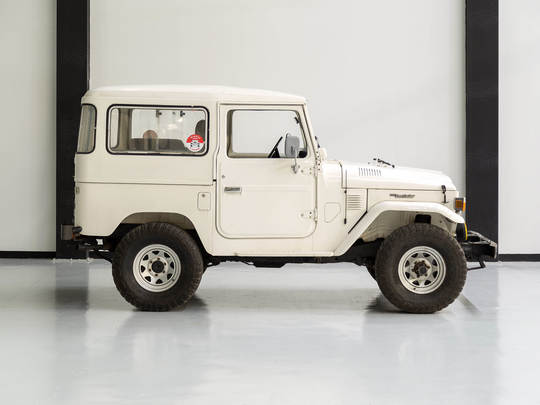 1978 Toyota Land Cruiser FJ40 White