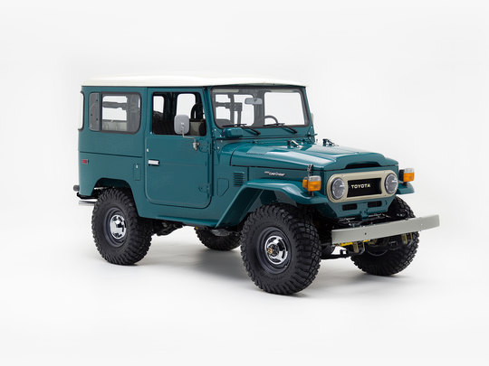 1979 Toyota Land Cruiser FJ40 Rustic Green