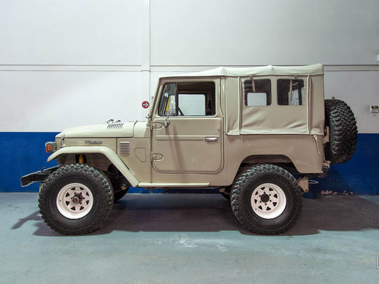 This amazing FJ40 will be going to St. Charles, IL after a full restoration