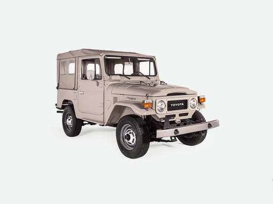 This Toyota Land Cruiser will take its new owner from the highest mountaintop to the nearest cafe like no other vehicle can.