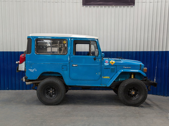 An ideal weekend driver:  1980 Toyota Land Cruiser FJ40
