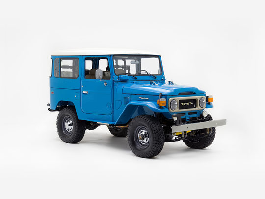 1980 Toyota Land Cruiser FJ40 Sky Blue