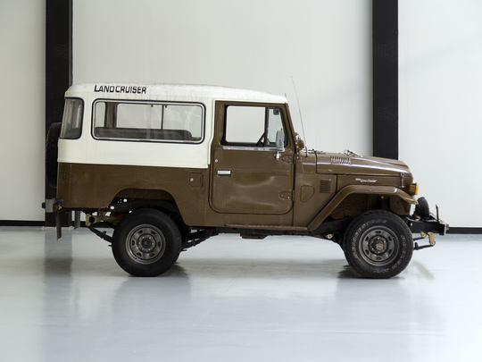1980 Toyota Land Cruiser FJ43 Olive Green