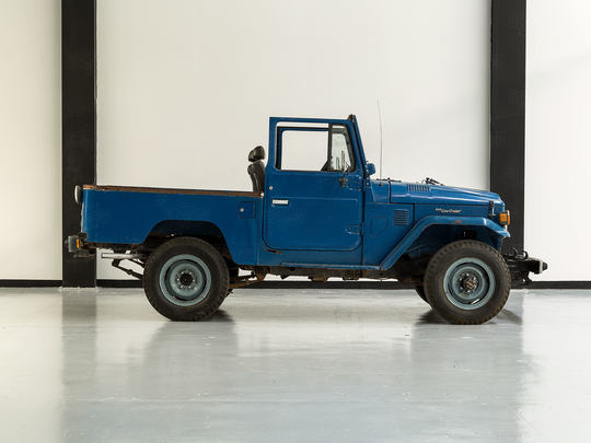1981 Toyota Land Cruiser FJ43 Medium Blue