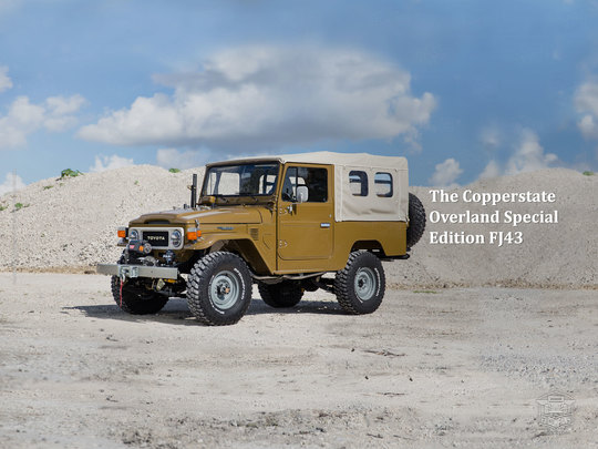 The Copperstate Overland Special Edition FJ43