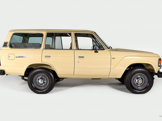 Incredibly well preserved FJ60
