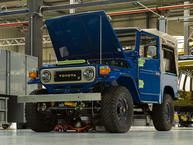 1982 FJ40 - Medium Blue - FJ40-355958