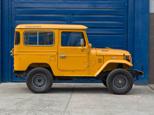 1982 Toyota Land Cruiser FJ40 Sky Blue