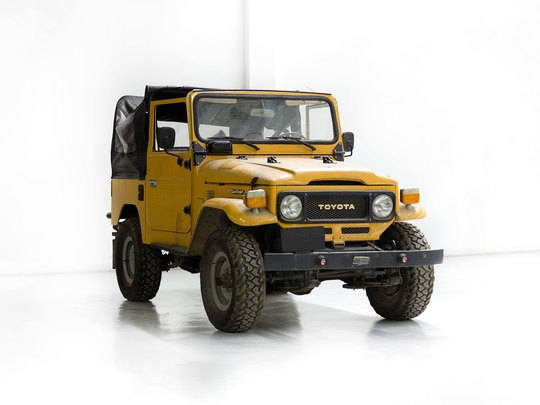 Toyota Land Cruiser 1982 FJ40 Mustard Yellow