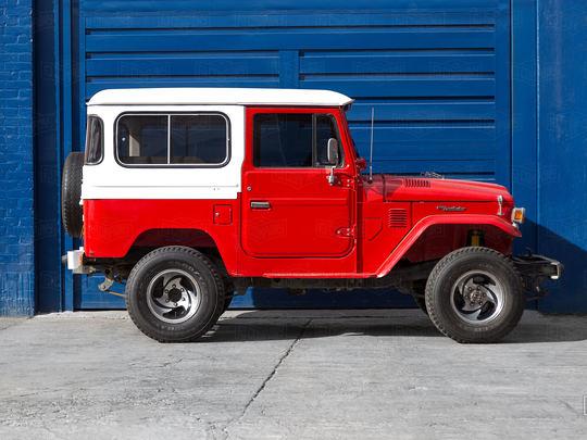 1982 Toyota Land Cruiser FJ40 Red