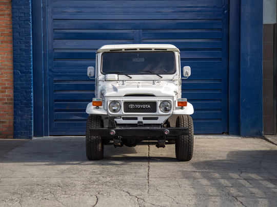 1982 Toyota Land Cruiser FJ40 Rustic Green