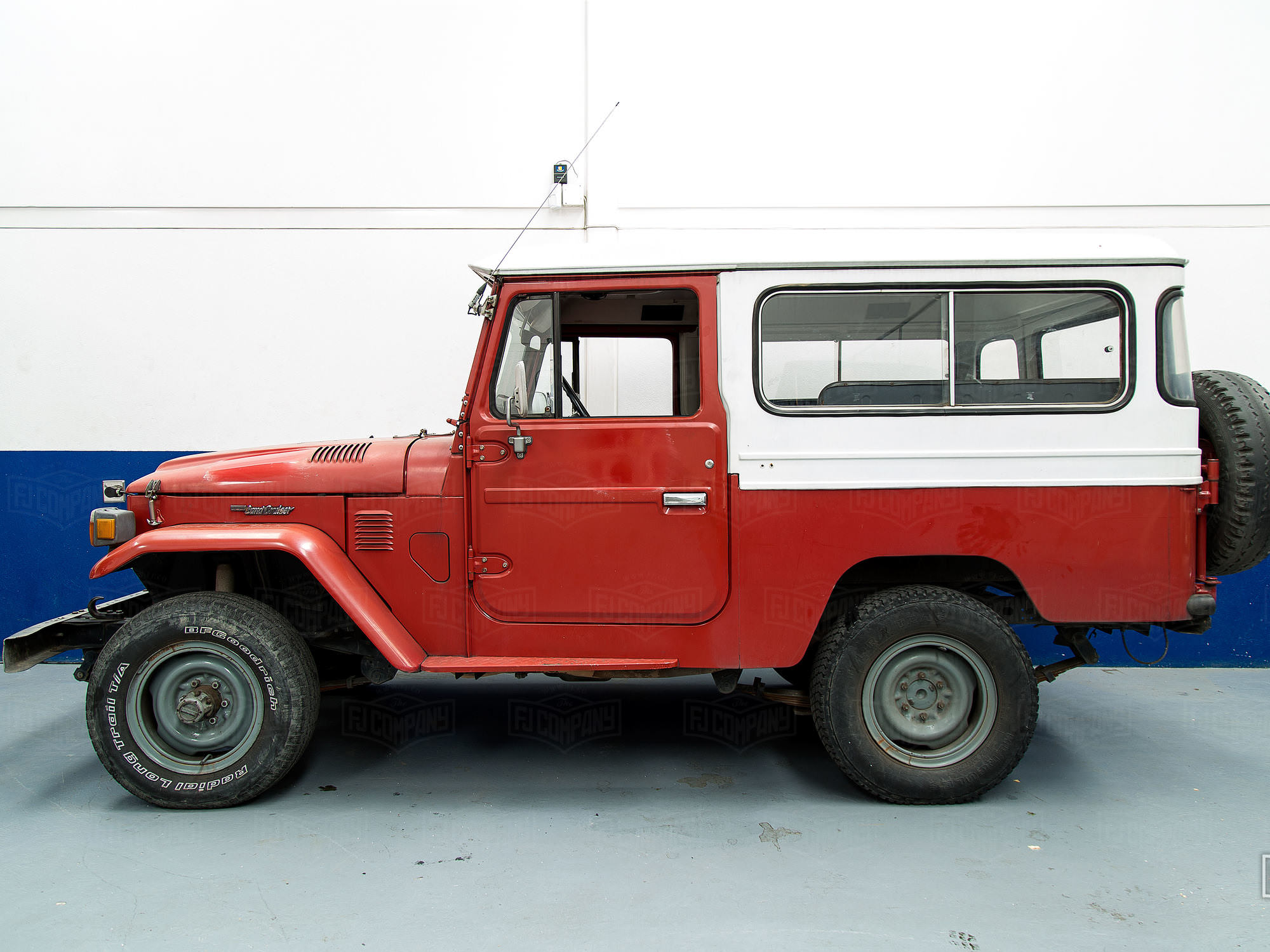 Beautiful Freeborn Red FJ43 Land Cruiser