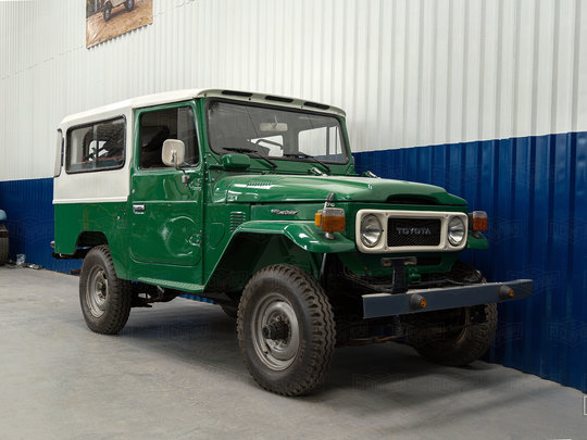Gorgeous 1980's FJ43 Land Cruiser