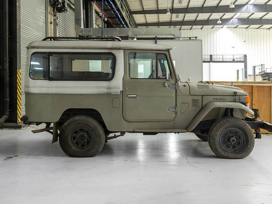Toyota Land Cruiser 1982 FJ43 Rustic Green