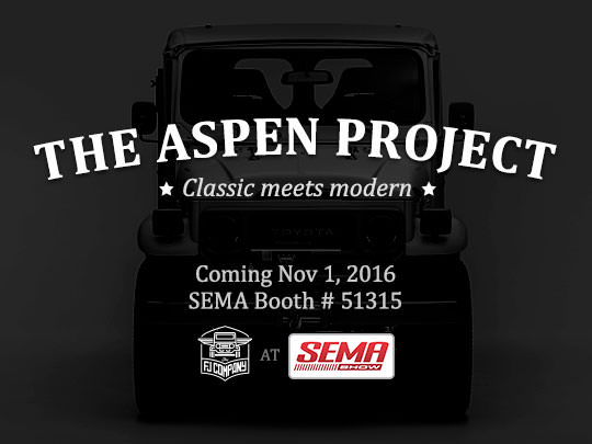 Our Souped Up Alpine-Inspired Ride is Ready to be Unleashed at SEMA