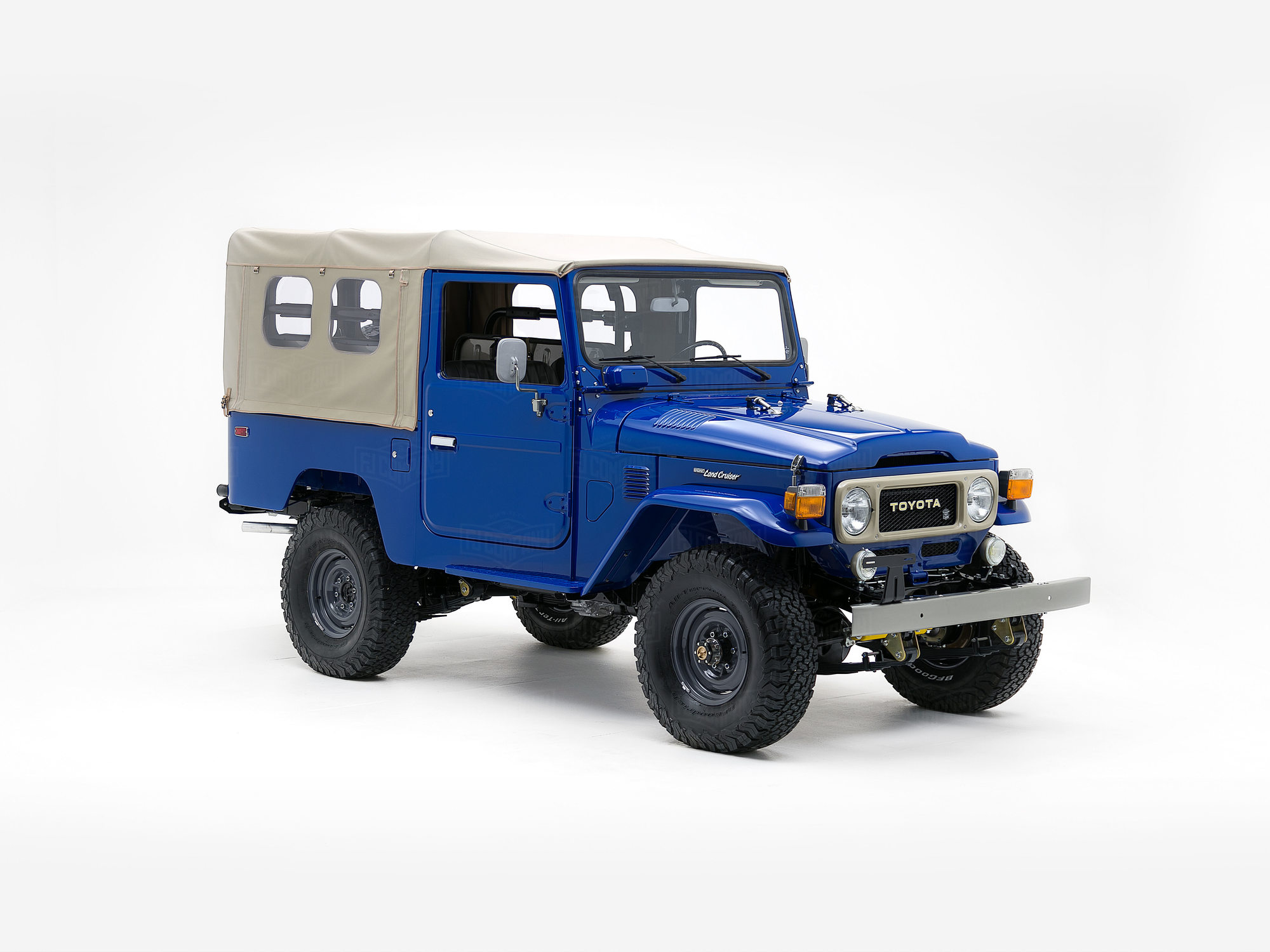 Toyota Land Cruiser 1982 FJ43 Medium Blue
