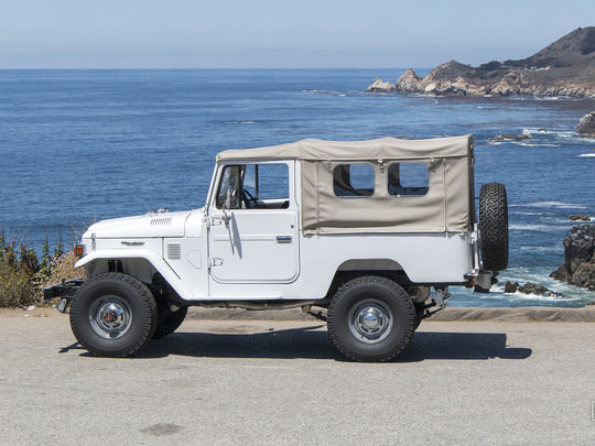 1982 Toyota Land Cruiser FJ43 110048 White