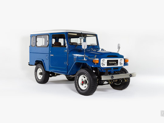 This right-hand drive BJ46 comes straight from Japan!