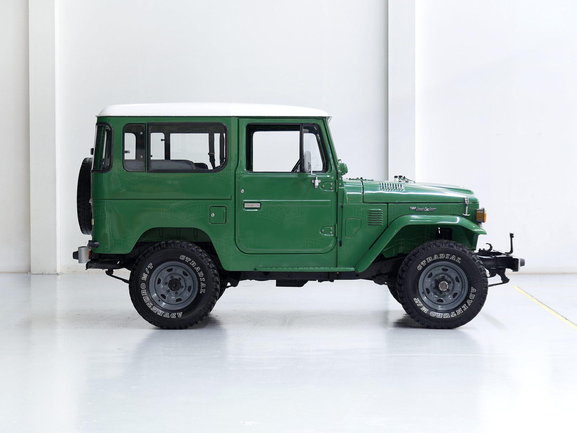1983 Toyota Land Cruiser FJ40 Green