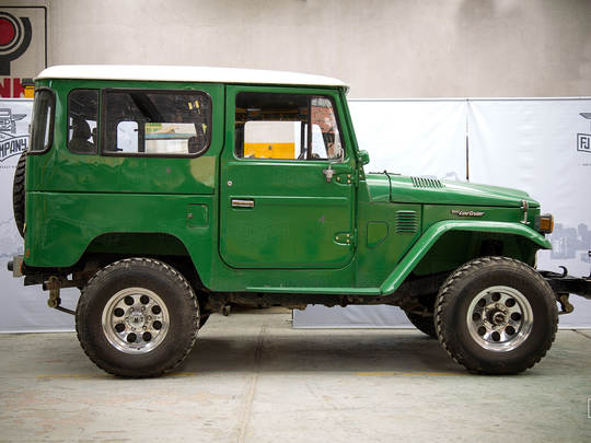 This 1983 FJ40 Land Cruiser proved just how strong and durable FJ's are.