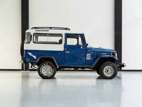1983 Toyota Land Cruiser Blue FJ43