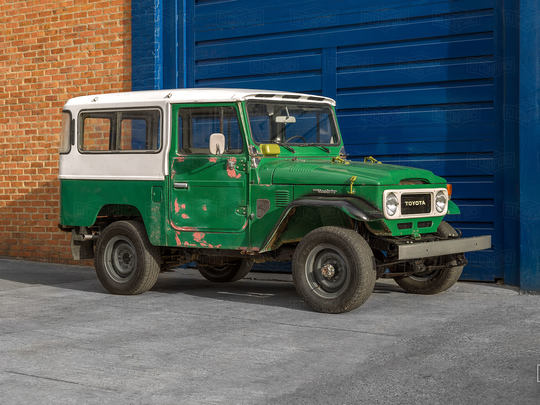 1983 Toyota Land Cruiser FJ43 Heath Gray