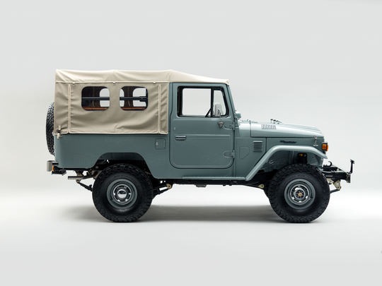 The perfect Land Cruiser for a seaside escape.