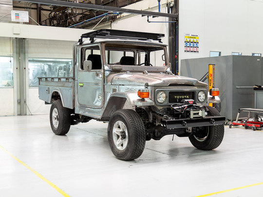 Toyota Land Cruiser 1971 FJ43-22212 Red ADF-874