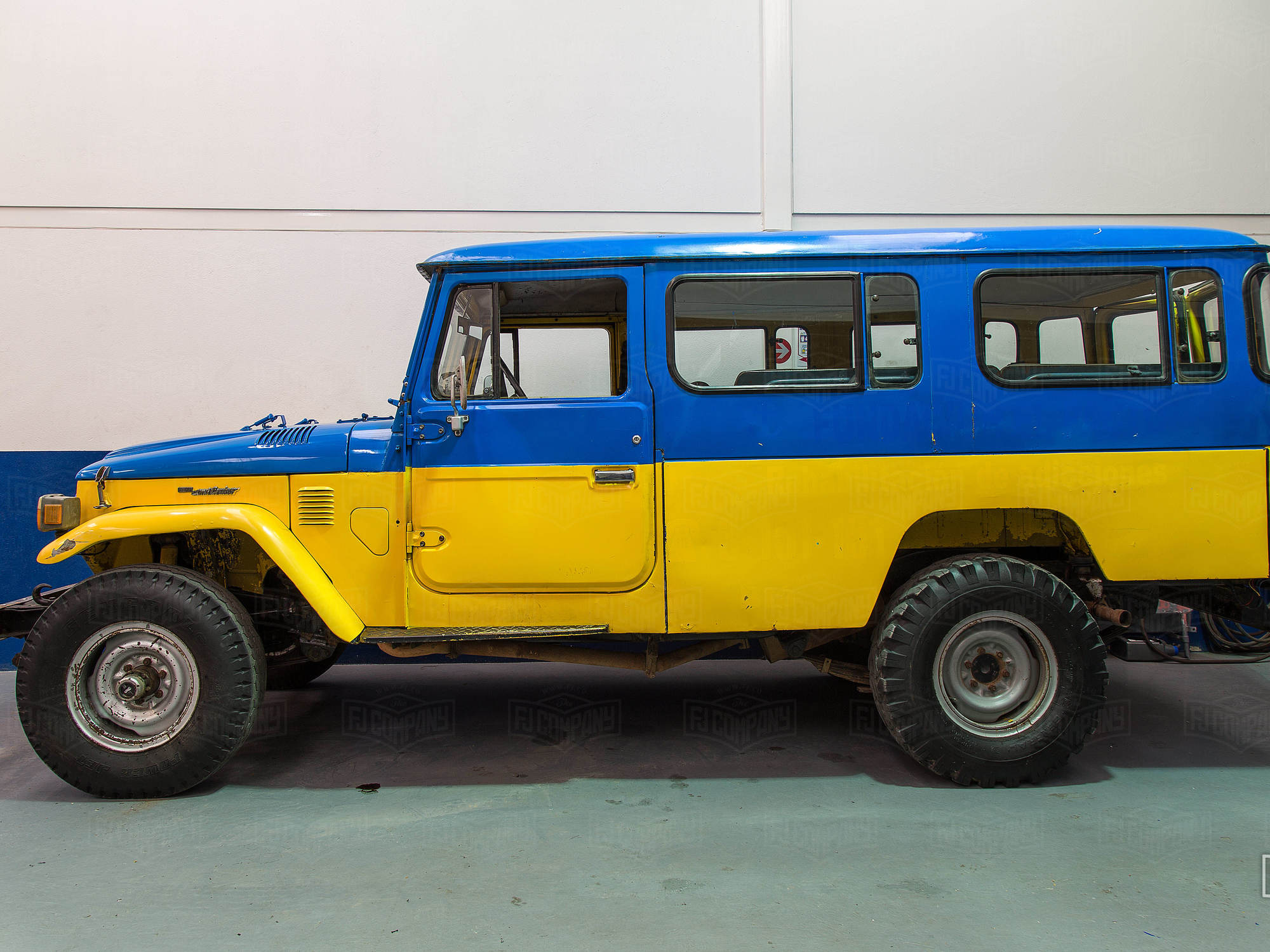 This 1983 Land Cruiser FJ45's restoration process is well underway. Stay posted for updates here.
