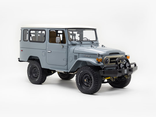 1984 Toyota Land Cruiser FJ43 Heath Gray